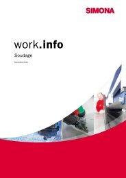 work.info Soudage - Simona AG