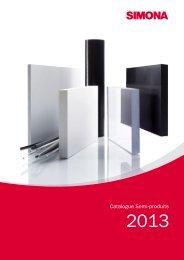Catalogue Semi-produits 2013 - Simona AG