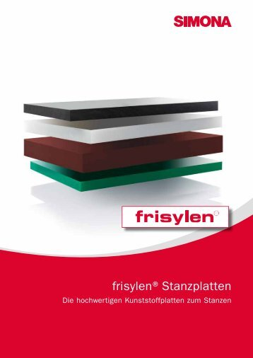 frisylen®Stanzplatten - Simona AG