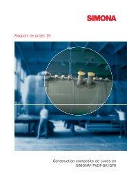 Construction composite de cuves en SIMONA®PVDF ... - Simona AG