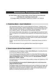 Downolad Polizei-Info Cottbus (korrigierte ... - Eintracht Frankfurt