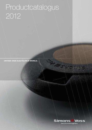 Productcatalogus 2012 - SimonsVoss technologies