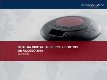 cilindro digital 3061 - SimonsVoss technologies