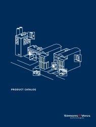 US product catalog - SimonsVoss technologies