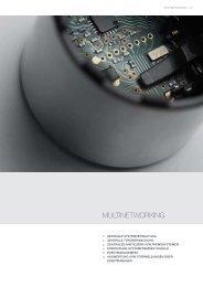 MULTINETWORKING - SimonsVoss technologies