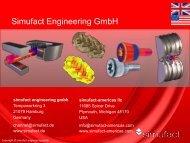 Simufact on One Page (PDF 300 KB) - Simufact Engineering GmbH