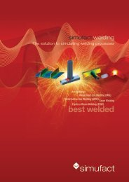 best welded - Simufact Engineering GmbH