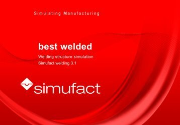product presentation simufact.welding