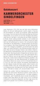 Programmheft 2010/11 - bei der Stadt Sindelfingen - Seite 6