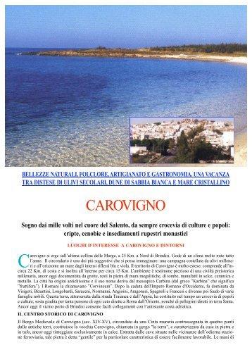 Carovigno testo Ital - Turismo e Benessere