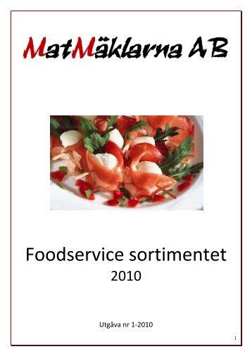 2010 - Matmäklarna