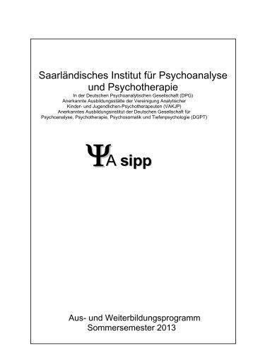 Veranstaltungsprogramm als PDF-Datei (360 KByte) - SIPP