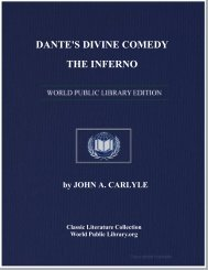 DANTE'S DIVINE COMEDY: THE INFERNO - World eBook Library