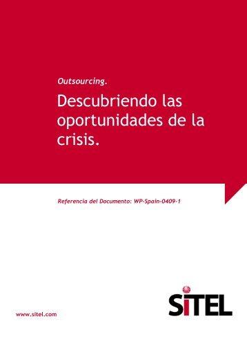 White Papers: Descubriendo las oportunidades de la crisis - Sitel