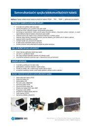 Samovulkanizační spojka telekomunikačních kabelů - Sitel