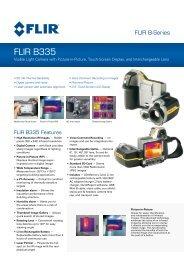 FLIR B335 - Sitel