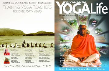 Life in an Ashram - Sivananda Yoga