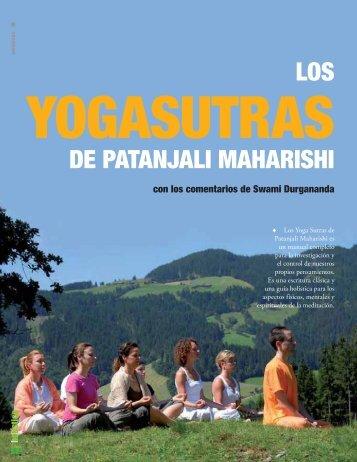 LOS DE PATANJALI MAHARISHI - Centro de Yoga Sivananda Madrid