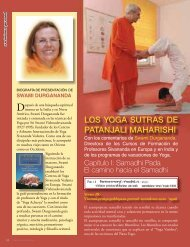 LOS YOGA SUTRAS DE PATANJALI MAHARISHI - Sivananda Yoga