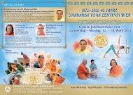 Programmdownload hier - Sivananda Yoga