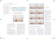 Beneficios de la postura sobre los hombros ... - Sivananda Yoga