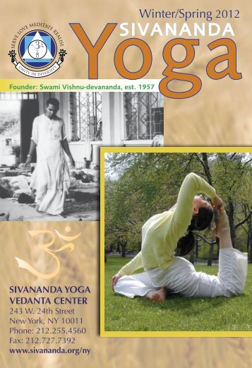 Winter/Spring 2012 - Sivananda Yoga
