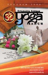 (212) 255-4560 (NYC) - Sivananda Yoga