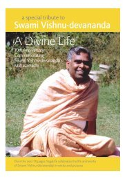 A Divine Life - Swami Vishnu-devananda - Sivananda Yoga