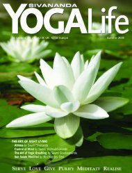 YOGALife - Summer - 2008 - Sivananda Yoga