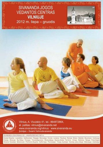 2012 geras_Layout 1 - Sivananda Yoga