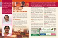 Nº 36: Remedios caseros ayurvédicos - Sivananda Yoga
