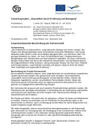 Comenius-Projekt - Privates Sankt-Josef-Gymnasium Biesdorf
