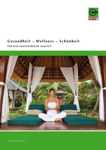 Gesundheit – Wellness – Schönheit - sjr werbung und grafikdesign