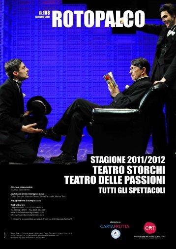 tEatro StorcHI tEatro DEllE paSSIoNI - produzioni ert - Emilia ...