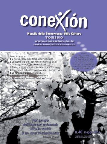 n. 40 maggio 2012 In questo numero - Conexión