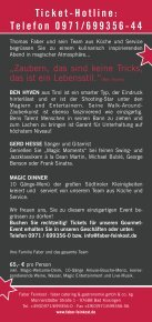 Gourmet-Event Magic Dinner - Faber Feinkost - Seite 2