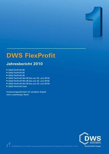 DWS FlexProfit Cash - Skandia Lebensversicherung AG
