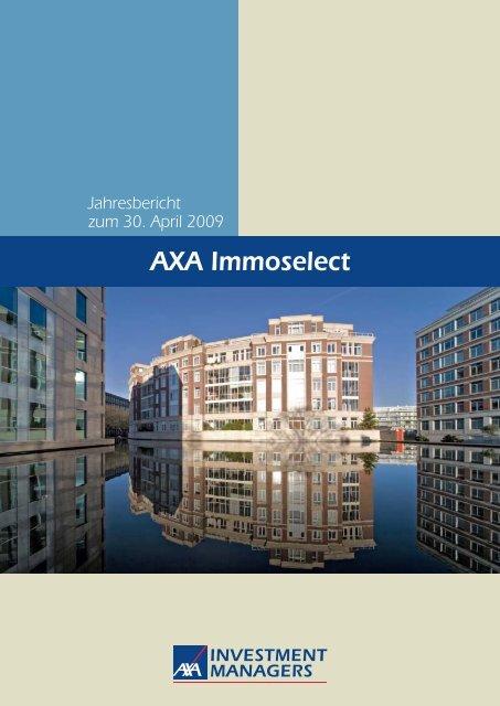 AXA Immoselect - Skandia Lebensversicherung AG