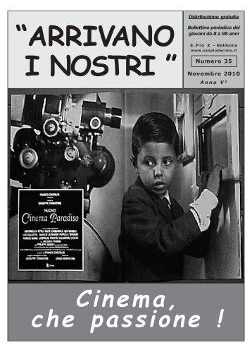 Cinema, che passione ! - San Pio X