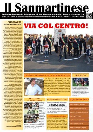 Il Sanmartinese N. 29 - Comune di San Martino in Strada