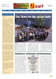 Qualifiziert: Schmieden und Bearbeitung - Edelstahl Rosswag