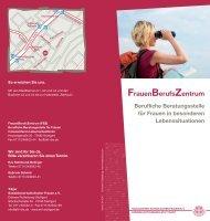 Flyer FBZ - Sozialdienst katholischer Frauen