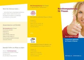 Berufswegeplanung für Frauen ... - SKF Viersen eV