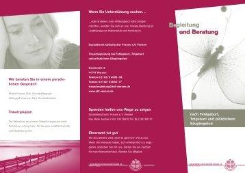 Begleitung und Beratung Begleitung und Beratung - SKF Viersen eV