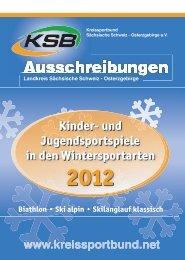 Ausschreibung KJS Winter 2012 - Kreissportbund Sächsische ...