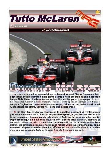 007 - Indianapolis (original) - Tutto McLaren