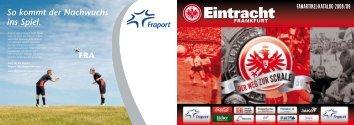 Katalog Download - Eintracht Frankfurt