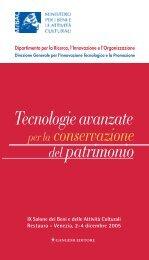 Pubblicazione Opuscolo - Ministero per i Beni e le Attività Culturali
