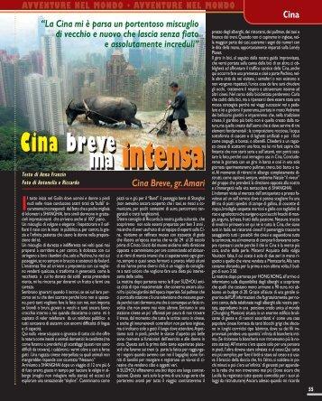Cina breve ma intensa - Viaggi Avventure nel mondo
