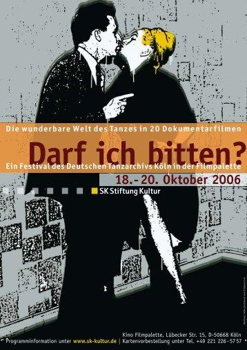 18. - 20. Oktober 2006 - SK Stiftung Kultur